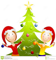 christmas tree decorations clip art free clipartfest