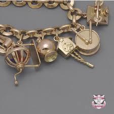 charm bracelet gold vintage images Fay cullen archives bracelets heavy gold vintage charm bracelet jpg