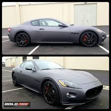 satin black maserati rolotech car wraps home facebook