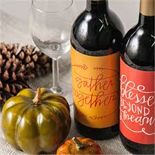 custom thanksgiving placemats wine label printing icustomlabel