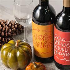 custom thanksgiving placemats wine label printing icustomlabel