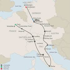 Map Of Switzerland And Italy by Switzerland Tours Globus Europe Vacations