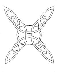 collection of 25 outline celtic knot with aries tattoo design