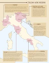 Map Of Italy Wine Regions by Trattoria Al Forno Wines Take Diners On A Trip Through Italy