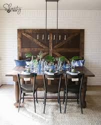 Farmhouse Dining Table With Leaf Diy Turned Leg Farmhouse Dining Table Shanty 2 Chic