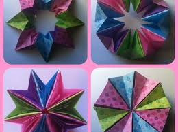 3d origami beginner tutorial how to make 3d origami magic circle medium easy snapguide