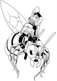 kids fun 18 coloring pages ant man