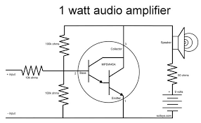 simple small audio amplifier circuit diagram using ic lm386 1
