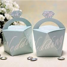 wedding favors 1 blue and chagne diamond wedding favor bags ewfb143