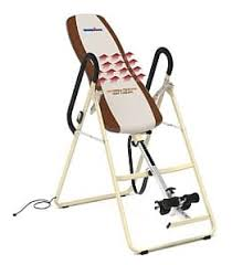 Inversion Table Review by Innova Itm4800 Heat And Massage Inversion Table Review