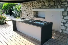faire une cuisine d été cuisine ete bois meubles pour cuisine meuble moderne idee deco bois