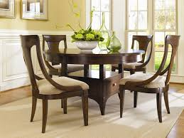 abbott place 5 piece round dining counter height table set in rich