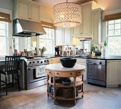 rounded kitchen island kitchen with antique table in the used as an island i