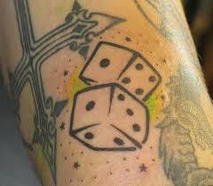 dice 1 cool dice tattoos slice and dice tattoos