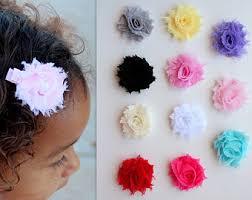Flower Clips For Hair - baby flower clips etsy