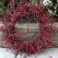 berry wreath crimson berry wreath 20 flora decor