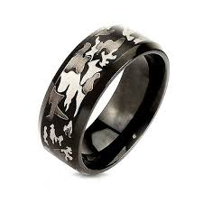 black steel rings images Outdoor camo rings camo wedding rings for sale six shooter gifts jpg