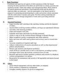Draftsman Job Description Resume by Teller Job Resume Cv Cover Letter