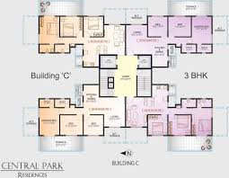 Central Park Floor Plan by Maruti Central Park Residences In Moshi Pune Price Location