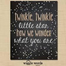Twinkle Little Star Nursery Decor Twinkle Twinkle Little Star Gender Reveal Party By Wigglewords
