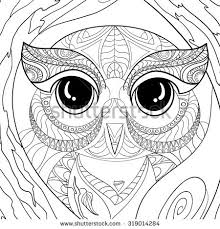 flora coloring pages art color therapy anti stress coloring stock vector 319014284