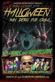 can you refund halloween horror nights tickets san diego friday halloween costumed pub crawl tickets