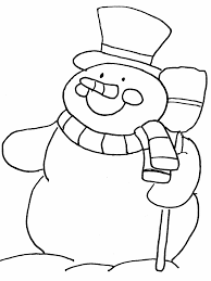 cute winter coloring pages snowman4 winter coloring pages coloring book