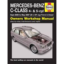 haynes manual mercedes benz c class petrol u0026 diesel sept 2000 may