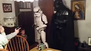 darth vader spirit halloween 751 gavin meets darth vader and stormtrooper youtube