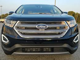 ford crossover black 2017 ford edge titanium awd suv for sale in ga 71984