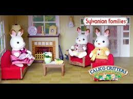 Sylvanian Families Calico Critter Luxury Lounge Room Set Unboxing - Sylvanian families luxury living room set