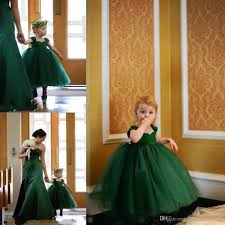 lovely little baby pageant dress emerald green cap sleeves