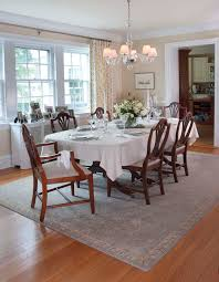 Baroque Nourison Rugsin Dining Room Traditional With Graceful - Area rug for dining room