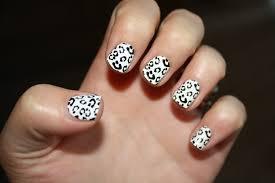 25 unique black and white nail art designs 2015
