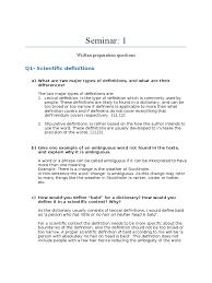 seminar definition pseudoscience
