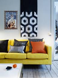 Modern Yellow Sofa Yellow Sofa Contemporary Living Room