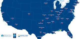 Sandestin Florida Map by Make Traveling A Breeze 39 Direct Flights To The Emerald Coast