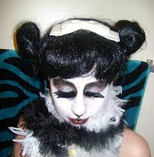 pretty panda halloween makeup how to create a face painting