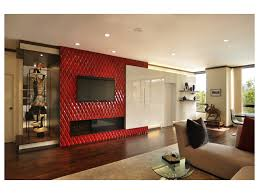 Red Accent Wall by Red Lotus Wood Textures Luxury Design Asian Morocco Coconut Tile