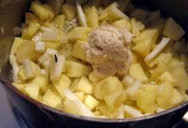 raifort cuisine bolli s kitchen soupe au raifort frais et aux pommes apfel