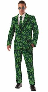 joint venture marijuana suit halloween costume tuxedo jacket pot
