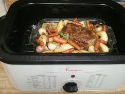 how to cook beef roast in an electric roaster meat pinterest