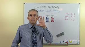 teacher math lesson doubling u0026 halving addition u0026 subtraction