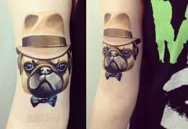 fantasy dog hat tattoo by sasha unisex