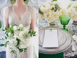 green and white art deco wedding u2013 taylor u0027d events