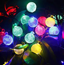 online shop solar powered fairy lights bubble ball 30 led