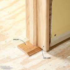 How To Hang Prehung Interior Doors How To Install An Interior Door That Is Not Prehung Www Napma Net