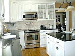 kitchen backsplash pictures with white cabinets backsplash tile white cabinets modern glass kitchen tile ideas with