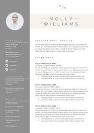 Cover Letter Resume Samples by The Emma Resume Design Graphic Design By Vivifycreative On Etsy