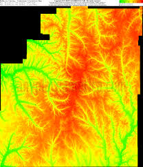 Elevation Map Of Michigan by Free Mcnairy County Tennessee Topo Maps U0026 Elevations